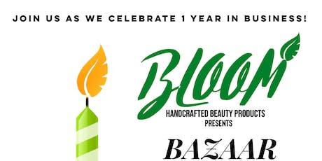 BLOOM 1 Year Anniversary Celebration tickets