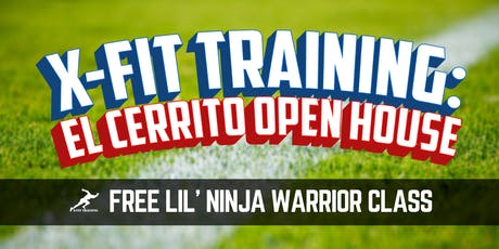 X-Fit Training FREE Lil Ninja Warrior Class tickets