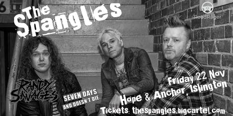 The Spangles at the Hope & Anchor tickets