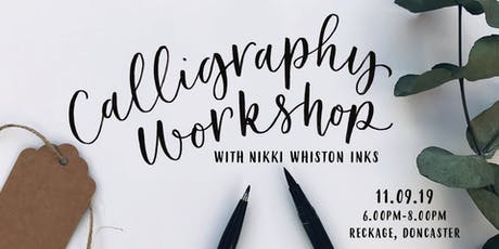 Modern Calligraphy Workshop Beginner - Brush Pen  tickets