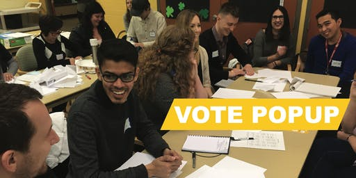 Engaging Democracy in Communities: Vote PopUp Training (Halifax)