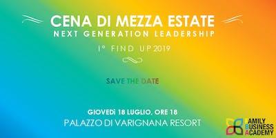 NEXT GENERATION LEADERSHIP - I Find Up 2019