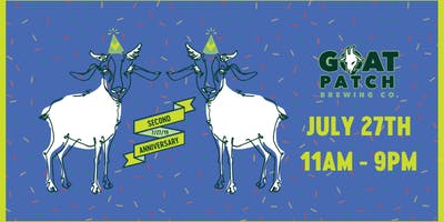 Goat Patch Brewing Company TURNS TWO!