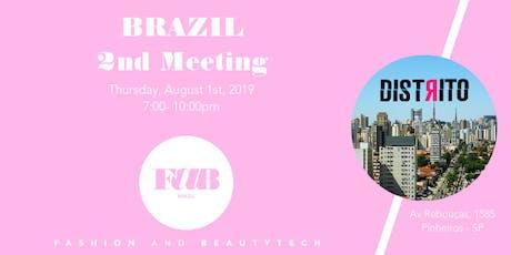 2o. MEETUP - FAB BRAZIL -  FASHION & BEAUTY TECH ingressos