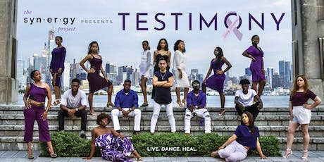 The Synergy Project, Inc. presents TESTIMONY tickets