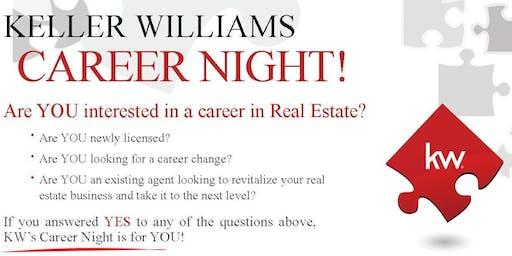 Keller Williams Career Night - Scholarship Drawing $100 for Atlanta Partners Real Estate School