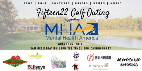 Fifteen22 Golf Outing supporting Mental Health America tickets