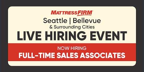 Seattle, Bellevue & Surrounding Cities - On-the-Spot Interviews tickets