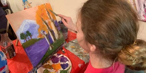 Free Art Class for Tweens and Teens (ages 11 - 18) Morning Session