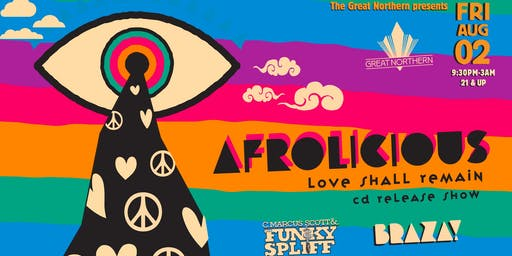 Afrolicioius (live) ~ Love Shall Remain CD Release Show