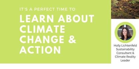 Learn About Climate Change + Action tickets