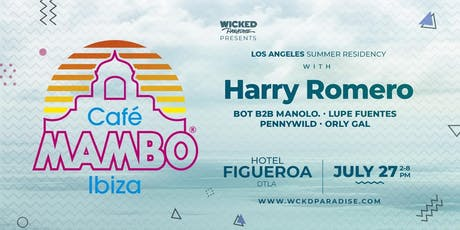 Cafe Mambo Los Angeles POOL PARTY ft. Harry Romero tickets