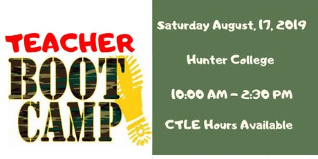 Teacher Boot Camp:Beginning Your School Year Right tickets