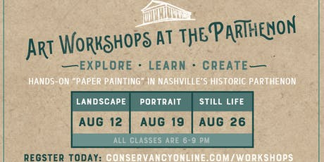 Art Workshops at the Parthenon tickets