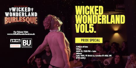 Wicked Wonderland Vol 5 - Pride Special tickets