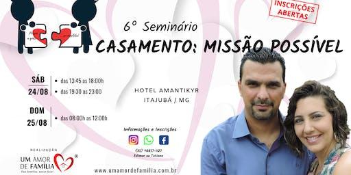 Seminário CASAMENTO UMA MISSÃO POSSÍVEL