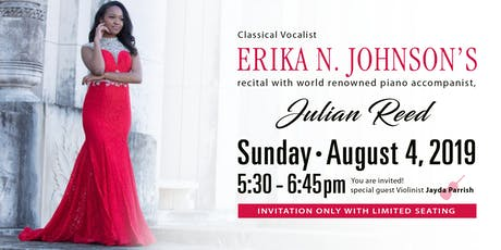 A Benefit Concert featuring classical vocalist Erika N. Johnson tickets