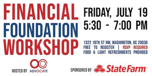 OCA - State Farm: Financial Foundation Workshop