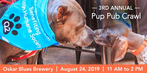 2019 3rd Annual Q2 Pup Pub Crawl - Sit, Sip, Stay, Serve