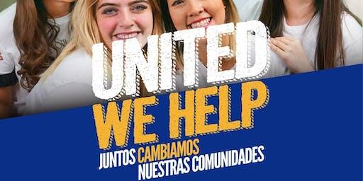 Rally UNITED WE HELP (United Way)