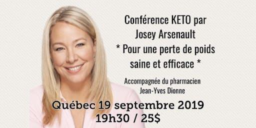 QUÉBEC - Conférence - KETO Pour une perte de poids saine et efficace!