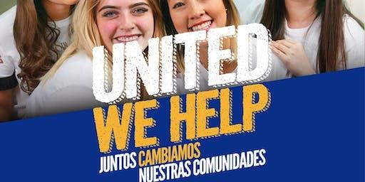 Preparación del evento UNITED WE HELP (United Way)