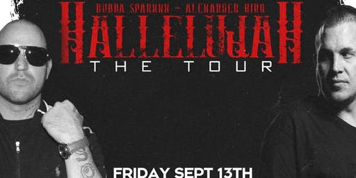 Hallelujah Tour Bubba Sparxxx and Alexander King at Tackle Box Chico-CA
