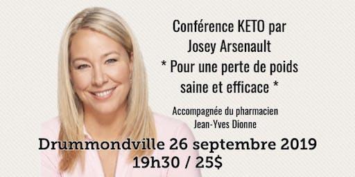 DRUMMONDVILLE - Conférence KETO Pour une perte de poids saine et efficace!