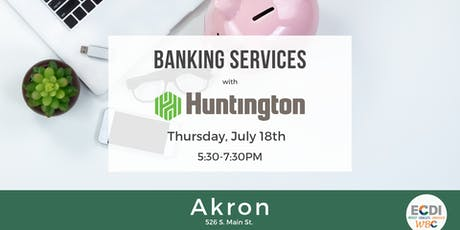 AKRON: Banking Services for Small Business tickets
