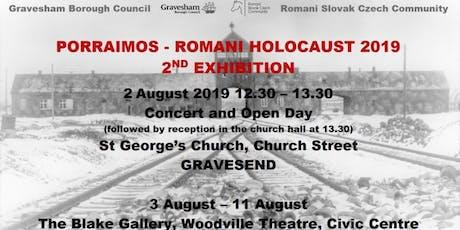 Porraimos Romani Holocaust Concert tickets