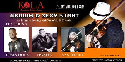 "Santonio & Friends ""Live Music Series"""