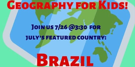Geography for Kids: Brazil