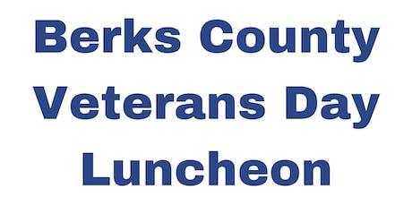 Berks County Veterans Day Luncheon tickets