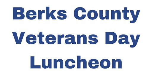 Berks County Veterans Day Luncheon