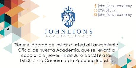 Gran Apertura JohnLions English Academy entradas
