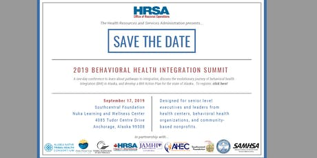 2019 Behavioral Health Integration Summit tickets