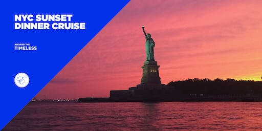 NYC Sunset Dinner Cruise aboard the Timeless