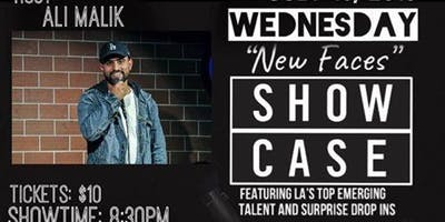WEDNESDAY NEW FACES COMEDY