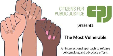 Intersectionality in Refugee Policy & Advocacy tickets