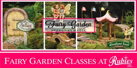"Fairy Garden Class ""Which way do we go?"" tickets"