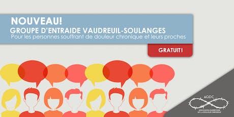 AQDC : Groupe d'entraide Vaudreuil-Soulanges - 28 août 2019 billets