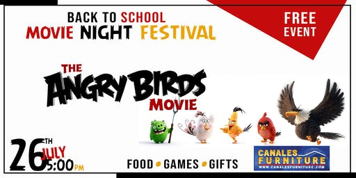 FREE: Back to School Movie Night Fest