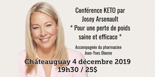 CHÂTEAUGUAY - Conférence - KETO Pour une perte de poids saine et efficace!