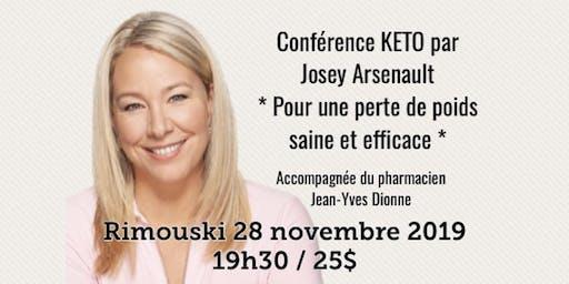 RIMOUSKI - Conférence - KETO Pour une perte de poids saine et efficace...