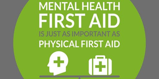 Mental Health First Aid Course - Adult - 2 Day