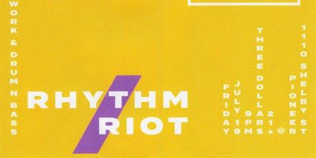 Rhythm / Riot tickets