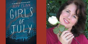 "Alex Flinn discussing her novel ""Girls of July"" at..."