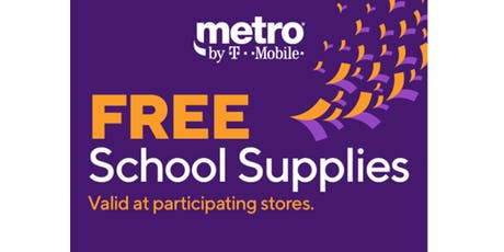 Free School Supplies! tickets