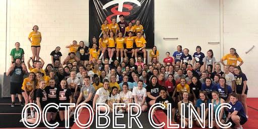 UWM Cheerleading Clinic: October