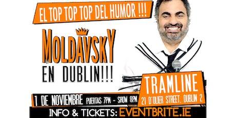 Roberto Moldavski in Dublin. The Top 1 Argentinian Comedian tickets
